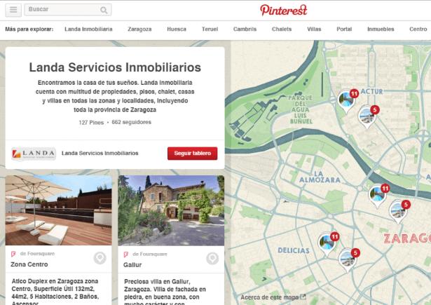 Pinterest - Inmobiliaria